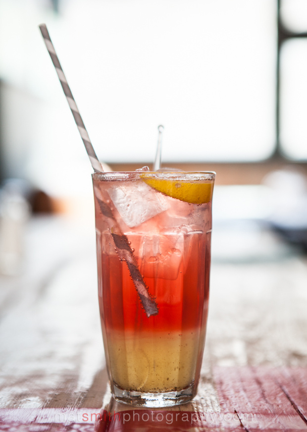 Mat Smith Photography Blog - Jamie Oliver Union Jacks - Damson Gin Fizz Cocktail